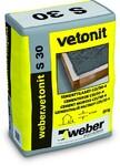 Раствор на цементной основе Weber.Vetonit S 30 25 кг