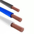 Провод гибкий ПВ-3 (ПуГВ) 10 кв.мм. одножильный цветной