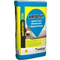 Фото - Гидроизоляция обмазочная цементная Weber.Tec 930 Vetonit 20 кг Оптом