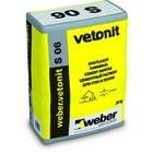 Цементная смесь для ремонта бетона Weber.Vetonit S 06 25 кг