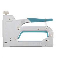Фото - Степлер мебельный регулируемый (HanD Werker), стальной корпус, тип скобы 53,4-14 мм. Розничная