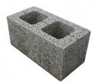 Блок керамзитобетонный стеновой Д 800 двухпустотный 390х240х188 мм