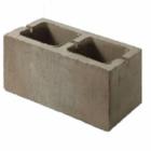 Блок пескобетонный стеновой Д 1000 двухпустотный 390x188x240 мм
