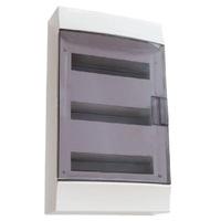 Фото - Бокс в нишу ABB Mistral41 54М (3x18) прозрачная дверь c клеммным блоком 41A18X33B Розничная
