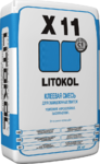 Litokol X-11 клей плиточный Литокол 25 кг (серый)