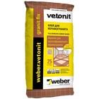 Клей для керамогранита WEBER VETONIT GRANIT FIX (25кг)
