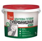 Шпатлевка полимерная Старатели Суперфинишная 7 кг