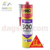Фото - Герметик акриловый силиконизированный SIKA, АBC Sealants 300 EXTRA белый Розничная