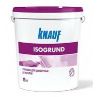Фото - Грунтовка для цементных штукатурок KNAUF ISOGRUND 15 кг Розничная