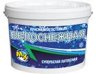 Краска водно-дисперсионная Мастер-Класс Белоснежная влагостойкая супербелая 4 кг