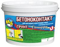 Фото - Грунтовка Мастер Класс Бетоноконтакт стандарт 10 кг Розничная