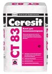 Ceresit CT 83 клей для утеплителя из пенополистирола, 25кг
