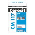 Клей для клинкера и фасадного камня Ceresit СМ 117 25 кг