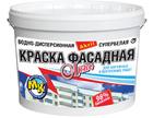 Краска водно-дисперсионная акриловая Мастер-Класс Фасадная 7 кг