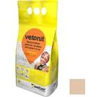 Затирка для швов влагостойкая Vetonit Decor бежевый 2 кг