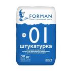 FORMAN 01 Штукатурка гипсовая тёплая перлитовая ручного и машинного нанесения 25 кг.