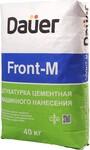 Штукатурка цементная машинного нанесения ДАУЕР Фронт-М / DAUER Front-M (40кг)
