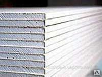 Фото - ГВЛВ КНАУФ суперлист, (гипсоволокно) влагостойкий 12мм 2500х1200 ПК Розничная
