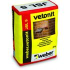 Цветной раствор для расшивки швов кирпичных конструкций Weber.Vetonit JSL 5 25 кг