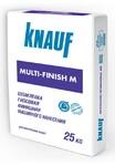 КНАУФ Мульти-Финиш М шпаклевка гипсовая финишная машинного нанесения 25 кг