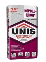 Фото - Штукатурка декоративная UNIS Короед Декор 25 кг Розничная