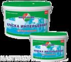 Краска латексная МК-06 Мастеркофф белая матовая 4 кг