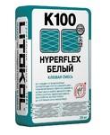 Клеевая смесь LITOKOL HYPERFLEX K 100 (ЛИТОКОЛ ГИПЕРФЛЕКС К 100 БЕЛЫЙ) 20 кг