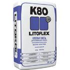 Литокол Litoflex K-80 клей плиточный 25 кг (серый)