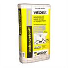 Клей для фасадных плит Weber.Vetonit Mramor 25 кг