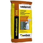 Штукатурка известково-цементная Weber.Vetonit 414 25 кг