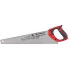 Ножовка по дереву, 450 мм, 7-8 TPI, зуб - 3D, каленый зуб, двухкомпонентная рукоятка MATRIX