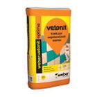 Клей для керамической плитки Weber.Vetonit Optima 25кг