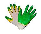 Перчатки ХБ 10 класс двойной облив