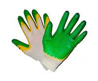 Фото - Перчатки ХБ 10 класс двойной облив Розничная