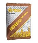 Песок строительный сухой очищенный фракционный в мешках 40 кг