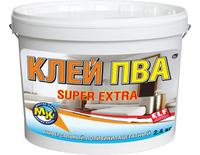 Фото - Клей ПВА «Super Extra» Мастер Класс 1 кг Розничная