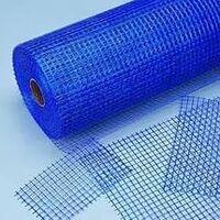 Фото - Cетка стеклотканевая для фасадных работ 5мм*5мм 160г/м2 (синяя) Розничная