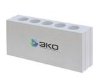 Силикатный пазогребневый блок 498х115х248 мм (плита) ПГП (пазогребень) ЭКО Ярославль (для перегородок)