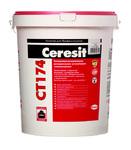 Штукатурка декоративная Ceresit CT 174 силикатно-силиконовая, Камешковая 2 мм, база, 25 кг