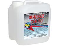 Фото - Клей-гидроизоляция Жидкое стекло Мастер Класс 3,5 кг  Розничная