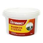 Жидкое стекло клей натриевое, ОПТИМИСТ К507 (3кг)