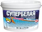 Краска водно-дисперсионная Мастер-Класс Стандарт акриловая Супербелая 40 кг