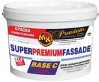 Краска водоэмульсионная фасадная База С «Super Premium Fassade» Мастер Класс 10 л