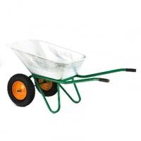 Фото - Тачка садово-строительная PALISAD (320 кг, объем 100л) двухколёсная, усиленная, пневма. колесо Розничная
