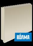 Пазогребневый блок плита (ПГП) Волма 100 мм полнотелая