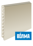 Пазогребневый блок плита (ПГП) Волма 80 мм пустотелый