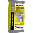 Клей ячеистых блоков и кирпича Weber.Vetonit Block 25 кг
