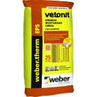Клеевая смесь для монтажа пенополистирола Weber.Therm EPS 25 кг