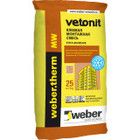Клей для монтажа минеральной ваты Weber.Therm MW 25 кг