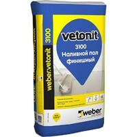 Фото - Пол наливной финишный Vetonit 3100 20 кг Розничная